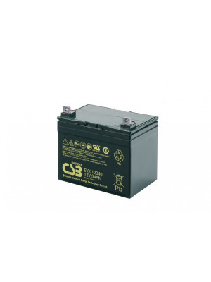 CSB accu 12V 34Ah 196x130x154(178)mm Gel