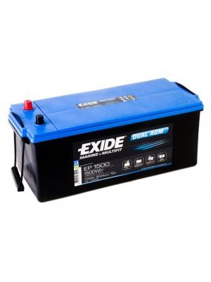 Exide Dual AGM accu EP1500 12V 180Ah 513x223x223mm