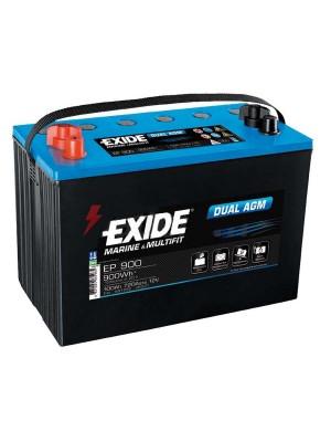 Exide Dual AGM accu EP900 12V 100 Ah 260x173x206mm