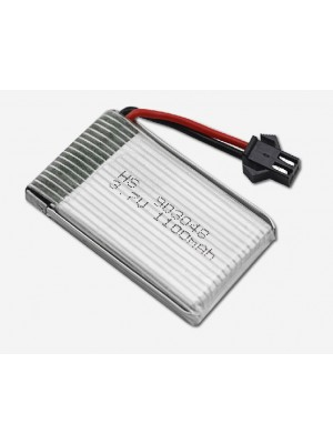 Li-ion battery 3,7V 1100mAh for R/C Helicopter