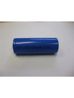 LiFePo4 18500 3.2V 850mAh 18*50