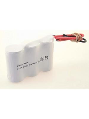 NiCD 3C HT ZAZ 3.6V 2500mAh 76x25x50mm