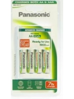 Panasonic Advanced charger 4AA 1900 Incl 7HRS
