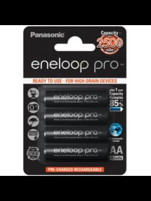 Panasonic Eneloop Pro AA 2500mAh BL4