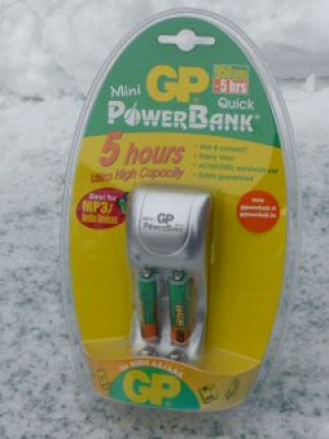 PB Mini Quick + AAA incl. 2xAAA 950mAh NiMh
