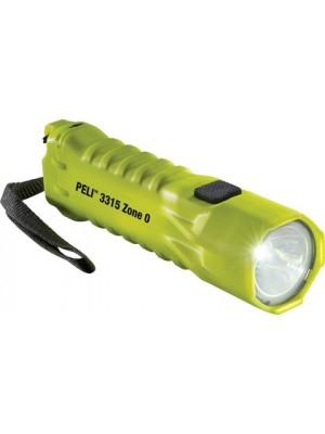 PELI 3315 ZONE 0 LED yellow PBT/XPG-2 incl 3xAA