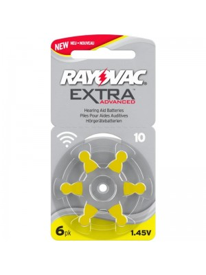Rayovac 10 90mAh PR70 BL6