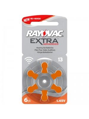 Rayovac 13 Extra Advanced 290mAh BL6