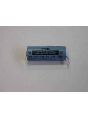 Sanyo Lithium CR 17450E-R >AA 3V 2,4Ah 4 DRAADs