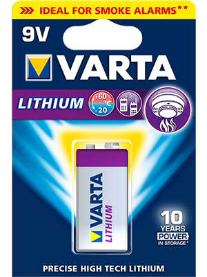 Varta 6122301404 Lithium 9V BL1