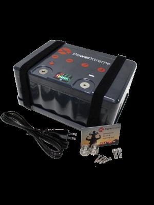 PowerXtreme X20  12V 20Ah (met ingebouwde oplader)