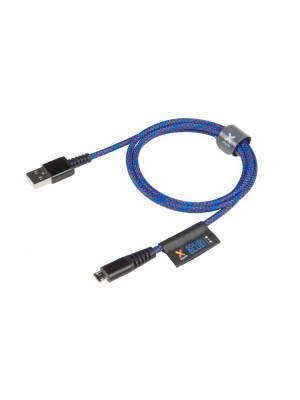 Xtorm Solid Blue Micro USB Cable 1m