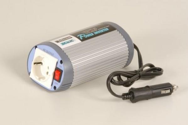 Inverter 12VDC/220VAC 150W Oval. Built in USB Port