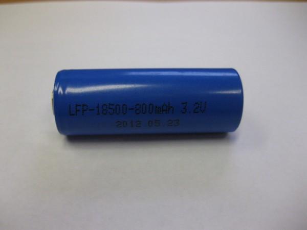 LiFePo4 18500 3.2V 1000mAh 18*50