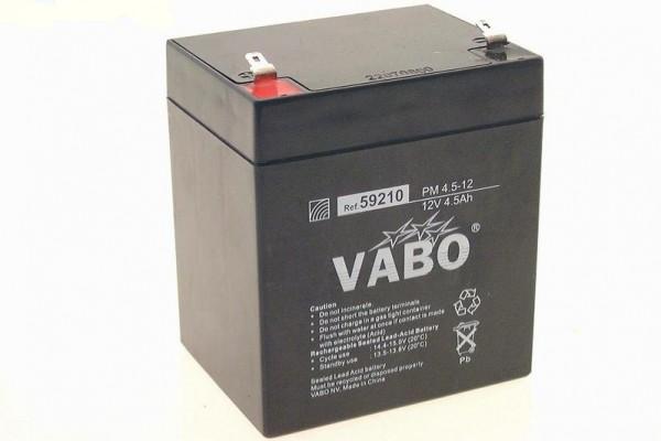 Loodaccu 12V 5Ah 90x70x105.5mm Faston 187=4.8mm