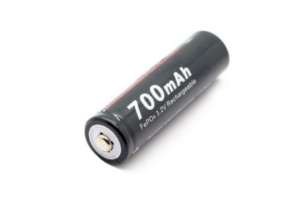 Soshine 14500 AA 3.2V 700mAh LiFePo4 14*50